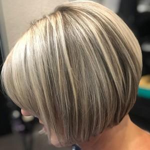 Winter springs blonde hair cut