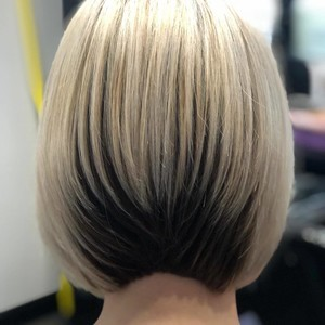 Winter springs bob hair cut