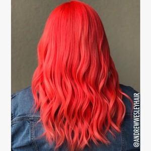 Winter springs red hair
