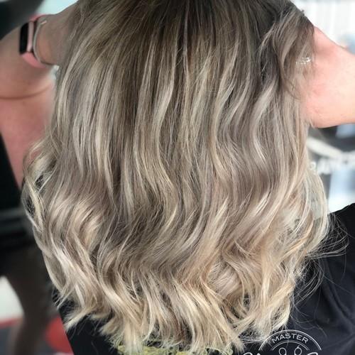 Winter springs blonde balayage 3 hair by sam