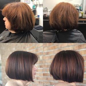 Winter garden womens bob hair cut