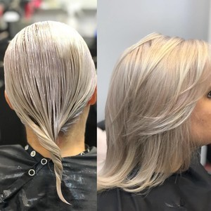 Winter garden toner hair