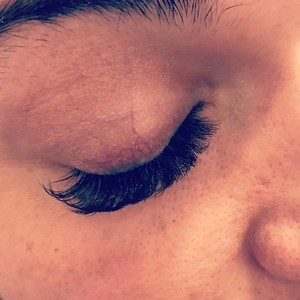Winter garden volume set lash extensions 2
