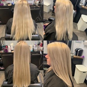 Winter garden blonde hair 1