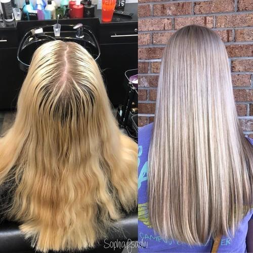 Winter garden blonde hair 2