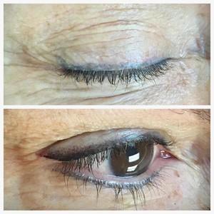 Ft. lauderdale stardust eyeliner before after