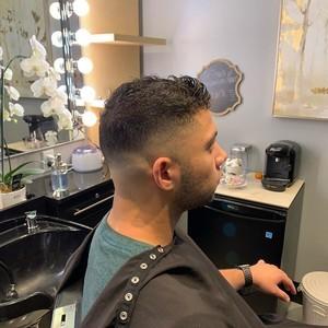 Ft. lauderdale mens fade hair cut