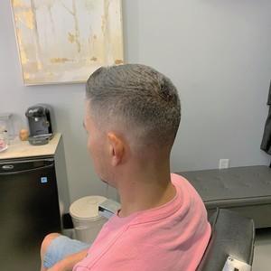 Ft. lauderdale mens hair cut 3