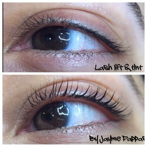 Ft. lauderdale lash lift and tint