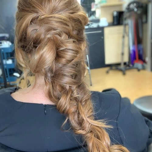 Ft. lauderale braided ponytail