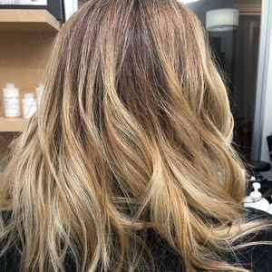 Ft. lauderdale blonde balayage hair 2