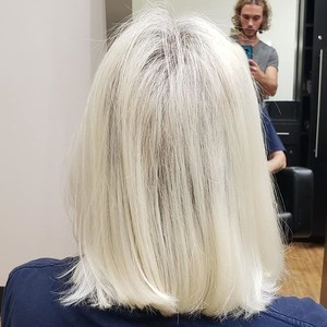 Ft. lauderdale platinum blonde hair 1