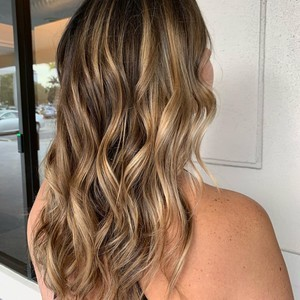 Ft. lauderdale balayage hair 2