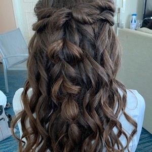 Ft. lauderdale bridal hair