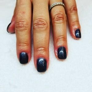 Boca raton navy blue nails
