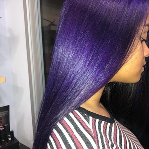 Orlando purple hair