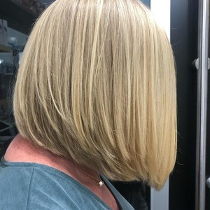 Orlando womens hair cut 1