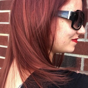 Orlando red hair balayage