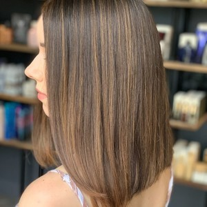 College park orlando bronde highlights hair