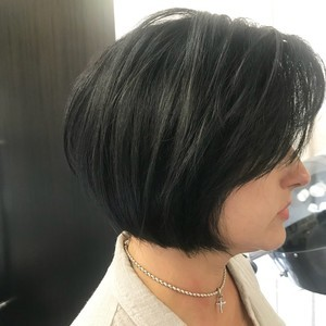 Orlando french bob hair cut 2