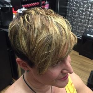 College park orlando womens hair cut 1