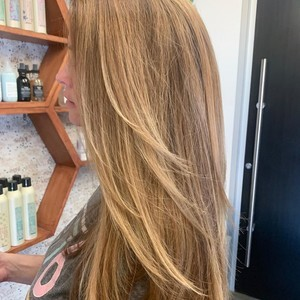 Orlando transitional blends and blow out