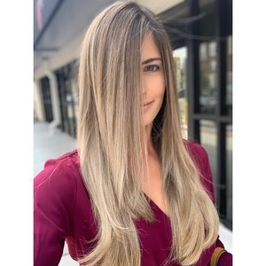 College park orlando blonde balayage hair