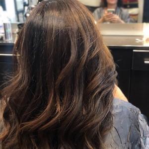 Boca raton balayage hair 1
