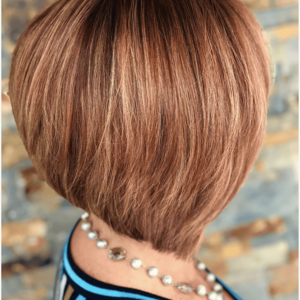 Boca raton copper bob hair cut