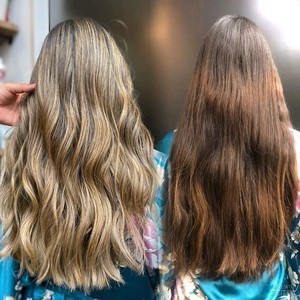 Boca raton balayage hair