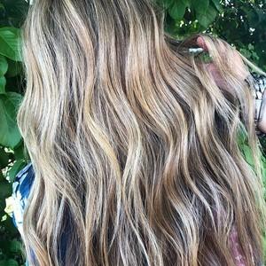 Boca raton balayage hair 2