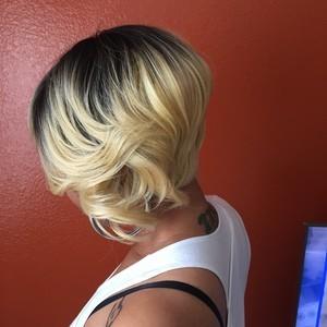 Orlando metrowest womens short hair cut