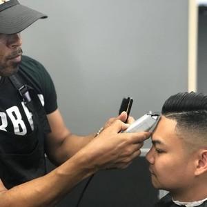 Orlando master barber duke stokes