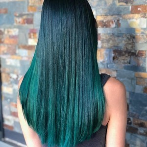 Boca raton green hair color