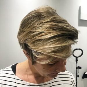 Orlando balayage womens hair cut