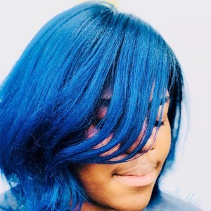 Orlando blue hair