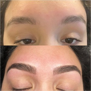 Dr. phillips orlando microbladng before and after