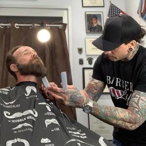 Orlando master barber ash covas