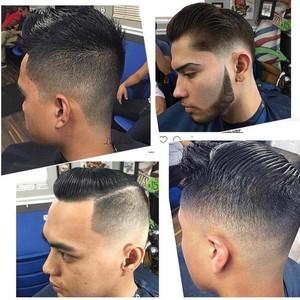 Orlando mens hair cut 2
