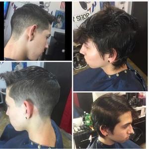 Orlando mens hair cut 3