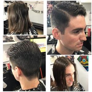 Orlando mens hair cut 4
