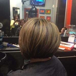 Orlando dr. phillips womens hair cut 2