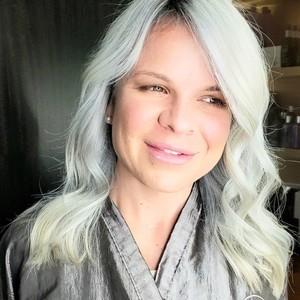 Ice platinum blonde