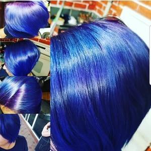 Orlando purple hair color