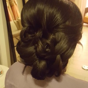 Orlando dr. phillips updo hair style
