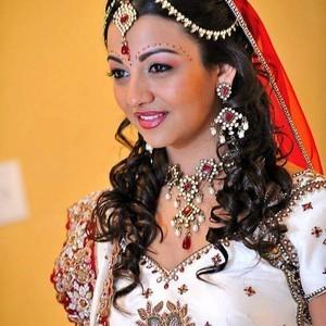 Orlando dr. phillips indian bridal hair 2