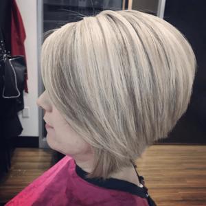 Dr. phillips orlando blonde bob hair cut