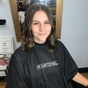 Maitland womens hair cut 2
