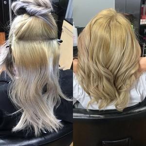 Maitland blonde hair