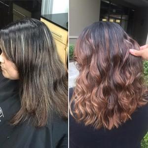 Maitland balayage hair
